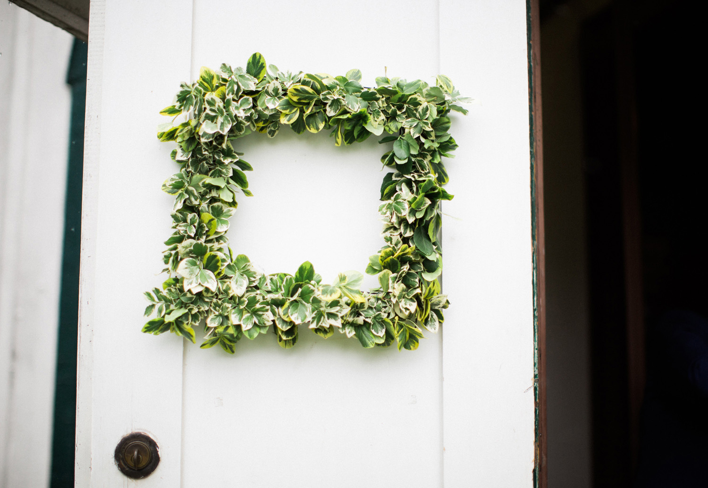 Ball's Falls Wedding | Jesse Jonas Photography | Wedding wreath