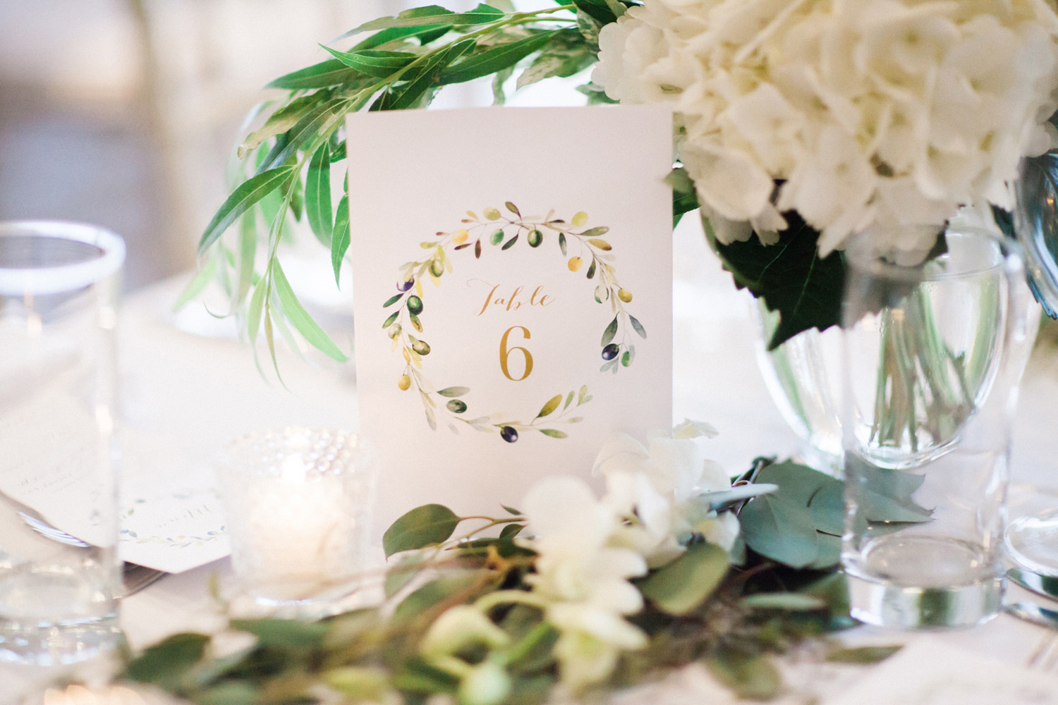 Mike Weir Winery | Jesse Jonas Photography | Table Numbers