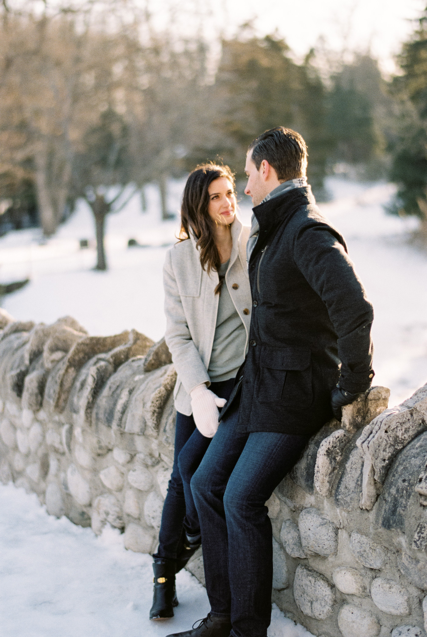 Websters Falls Engagement | Jesse Jonas Photography
