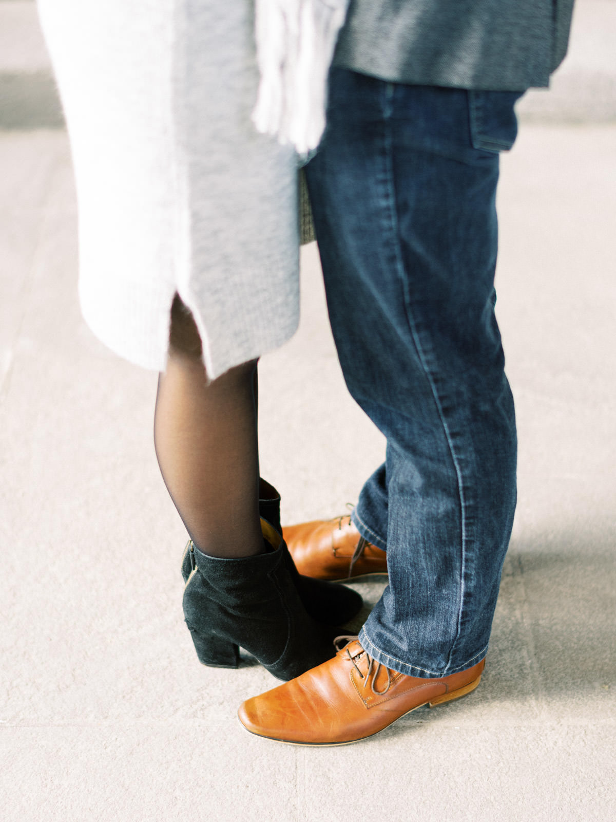 fall engagement session wardrobe