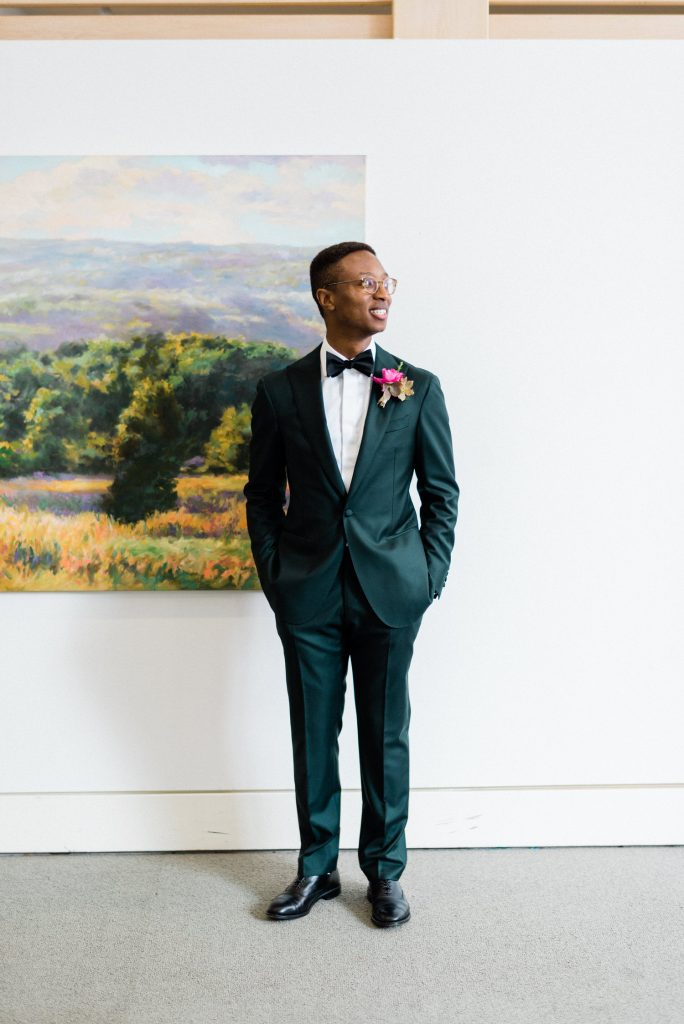 groom at the AGH