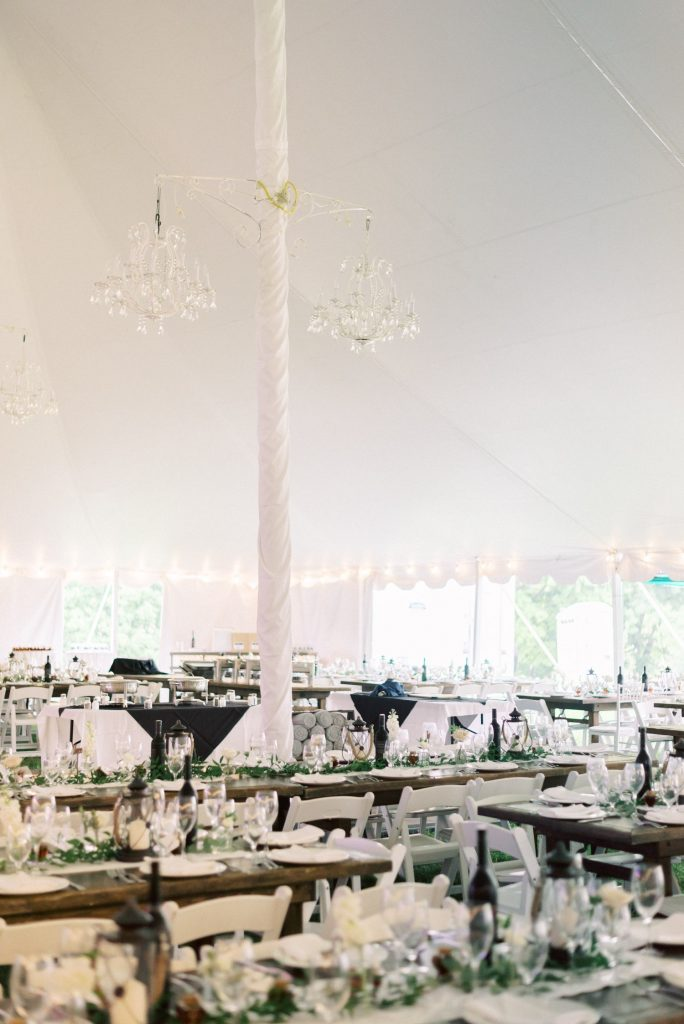 backyard tent wedding reception, halton hills