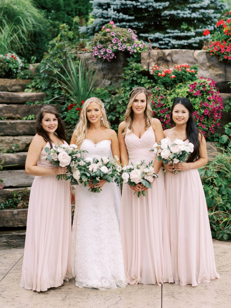 the bridesmaids