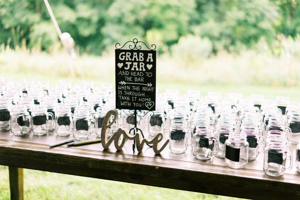 backyard tent wedding reception, halton hills