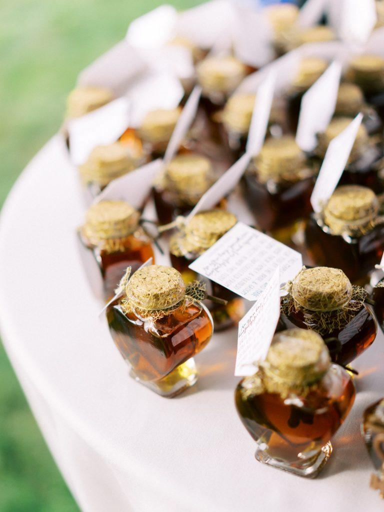 backyard tent wedding reception, halton hills details