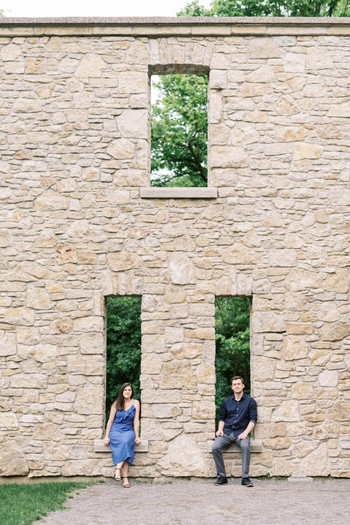the hermitage, dundas valley engagement photography
