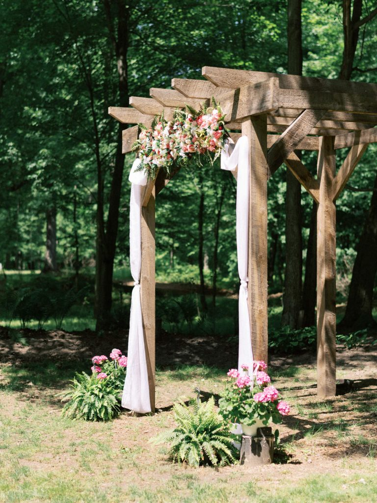 ceremony spot at fernwood hills