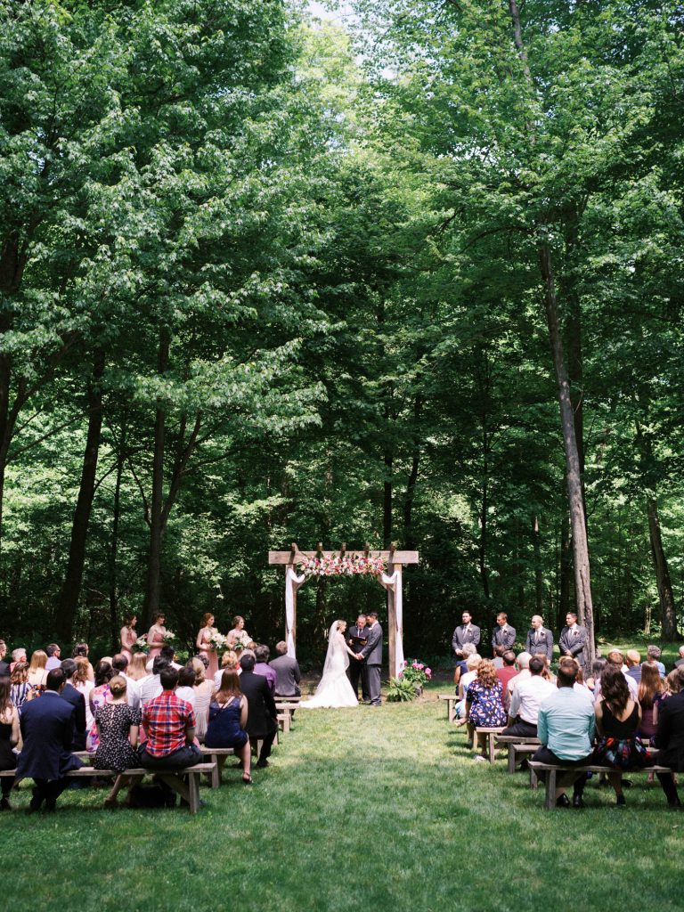 scenic view of ceremony at fernwood hills in london