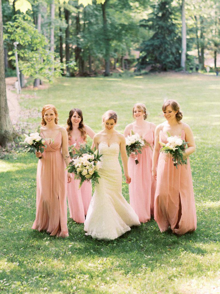 casual bridemaids photo